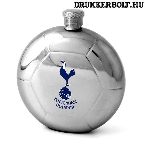Tottenham Hotspur fém flaska - focilabda alakú Spurs kulacs címerrel