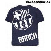 Fc Barcelona rövidujjú póló (sötétkék) - Barca póló gyerek méretekben