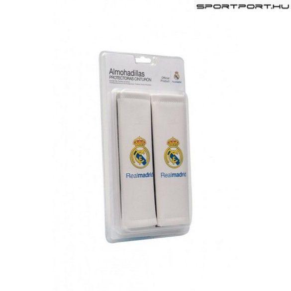Real Madrid biztonsági öv párna - eredeti klubtermék (fehér)