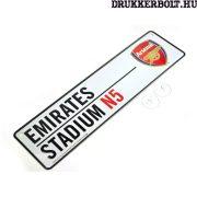 Arsenal FC mini tábla - eredeti, hivatalos klubtermék (ablak tábla / utca tábla)