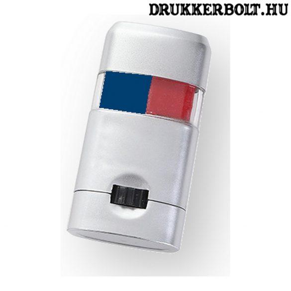 Vasas / Videoton szurkolói arcfestő stift - piros-kék arcfestő