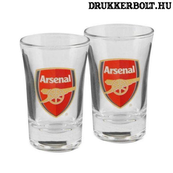 Arsenal felespohár szett - kupicás pohár Arsenal szurkolóknak