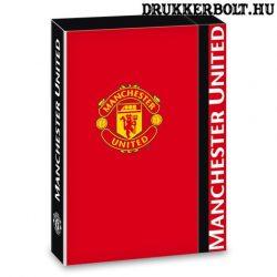 Manchester United füzetbox (A/5 méretű MU borító)