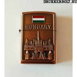Magyarország öngyújtó - vörösréz magyar öngyújtó (benzines)