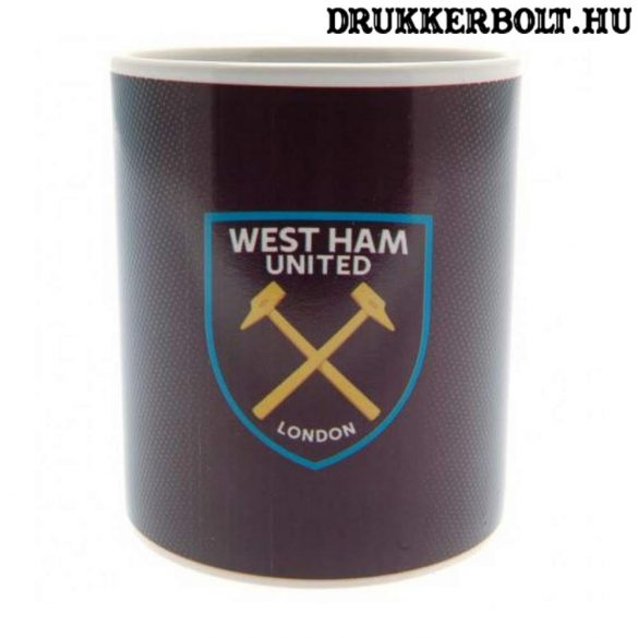West Ham United bögre - hőképes bögre (meleg ital hatására jelenik meg a logó)