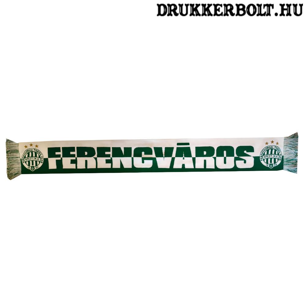11bee30a41 Ferencváros sál - zöld-fehér Fradi sál (hivatalos,hologramos FTC klubtermék)