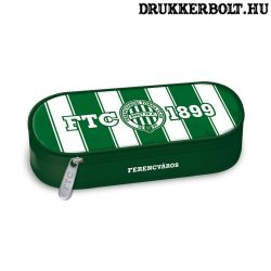 Ferencváros tolltartó - dupla cipzáras FTC tolltartó (Fradi tolltartó)