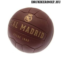 Real Madrid retro bőrlabda - eredeti gyűjtői termék!