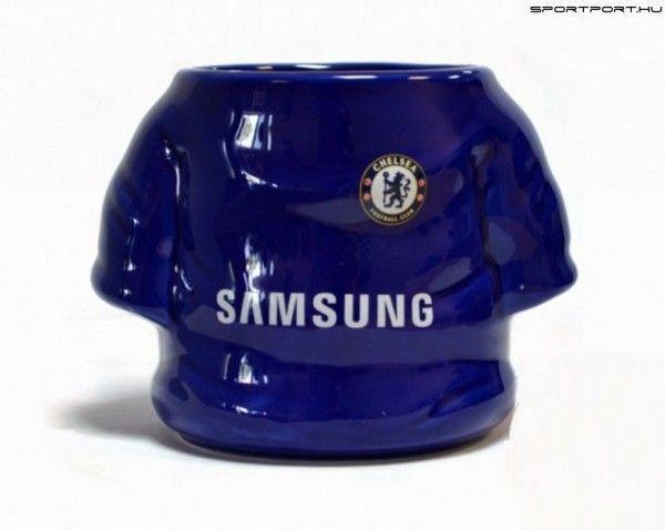 Chelsea FC Football Mug - focimez alakú kék Chelsea bögre (nagyméretű) 1cb468187c