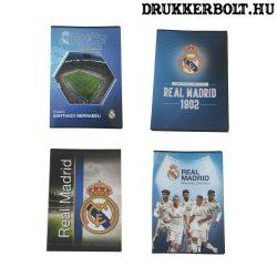 Real Madrid vonalas füzet (A/4 méretben, több változatban)