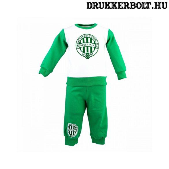 Ferencváros gyerek pizsama (pamut) - eredeti, hivatalos Fradi termék!