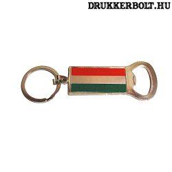 Magyar kulcstartó sörnyitóval - Magyarország kulcstartó