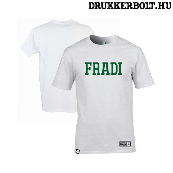 FTC póló - Ferencváros szurkolói póló FRADI felirattal (fehér)