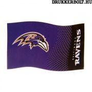 Baltimore Ravens zászló -hivatalos  NFL zászló (eredeti, hologramos klubtermék)