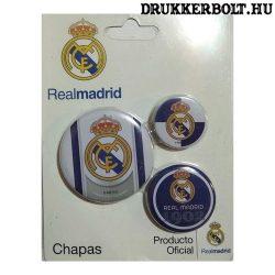Real Madrid kitűző / jelvény szett - eredeti klubtermék