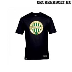 Ferencváros póló - Fradi címeres fekete szurkolói póló (pamut)