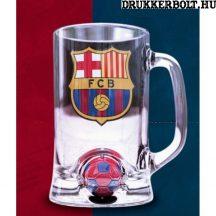 FC Barcelona söröskorsó labdával - eredeti klubtermék