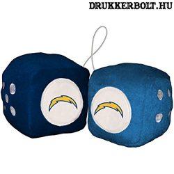Los Angeles Chargers plüss dobókocka - eredeti NFL termék