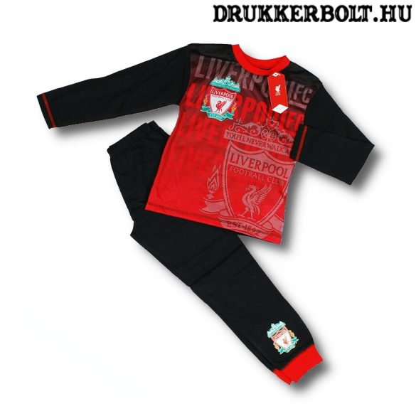 Liverpool FC gyerek pizsama (pamut) - eredeti, hivatalos klubtermék!