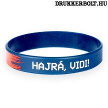 Videoton FC szilikon csuklópánt / karkötő - hivatalos Vidi termék (kék)