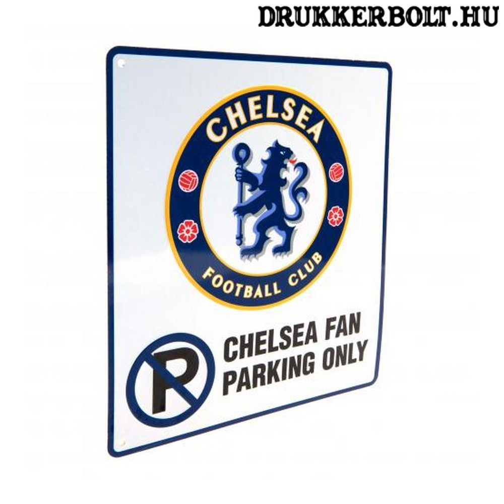 Chelsea FC szurkolói parkoló tábla - eredeti dbed8e1ebb