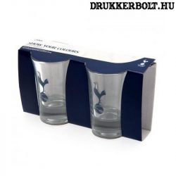 Tottenham Hotspur felespohár - üveg kupicás pohár Spurs szurkolóknak