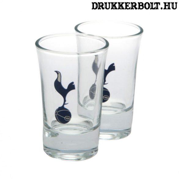 Tottenham Hotspur felespohár szett (2 db-os) - üveg kupicás pohár Spurs szurkolóknak