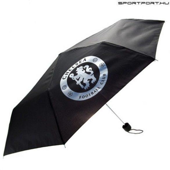 Chelsea FC fekete esernyő klubcímerrel - hivatalos szurkolói termék