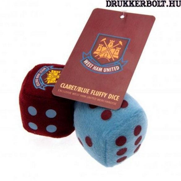 West Ham United plüss dobókocka - eredeti Hammers termék