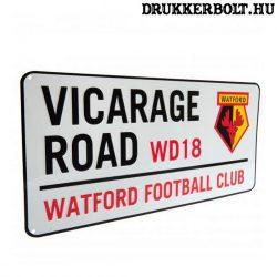 Watford Fc utcanév tábla - eredeti, hivatalos klubtermék