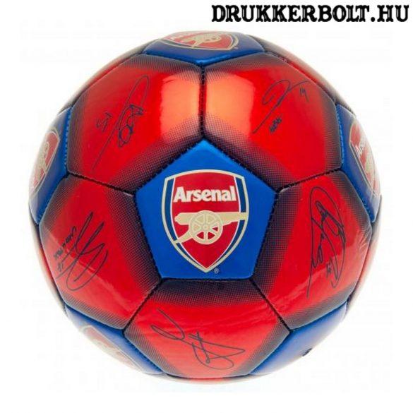 """Arsenal FC """"Signature"""" labda - normál (5-ös méretű) Arsenal címeres focilabda a csapat tagjainak aláírásával"""