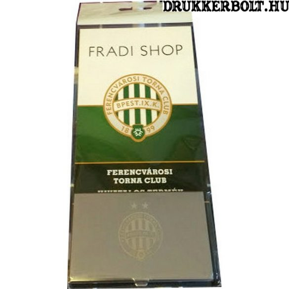 Ferencváros fém névjegykártyatartó - hivatalos FTC termék