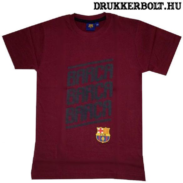Fc Barcelona rövidujjú póló gyerek méretekben - eredeti, hivatalos klubtermék (több színben)
