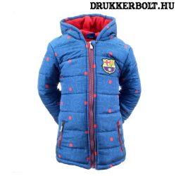 FC Barcelona gyerek kabát / dzseki - liszenszelt FCB télikabát gyerekeknek (több méretben)