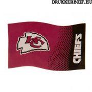 Kansas City Chiefs zászló -hivatalos  NFL zászló (eredeti, hologramos klubtermék)