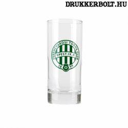 Ferencváros pohár - eredeti, címeres Fradi üdítős pohár