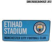 Manchester City utcatábla - eredeti, hivatalos klubtermék