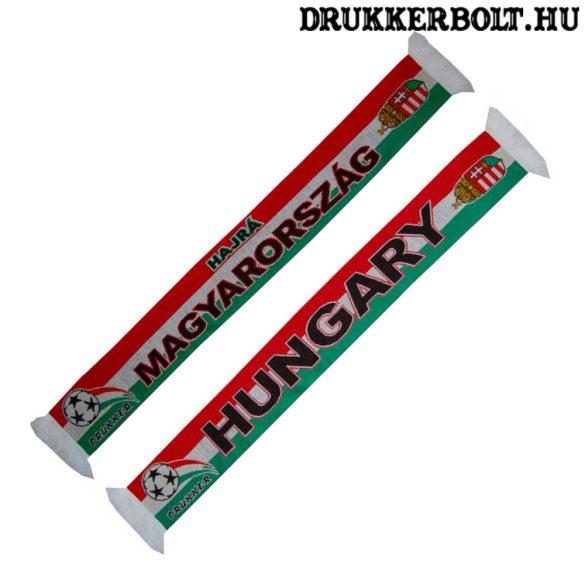 Hajrá Magyarország! - Hungary kétoldalas kötött sál ( magyar válogatott sál)