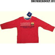 Fc Barcelona gyerek póló - eredeti, hivatalos klubtermék (piros)