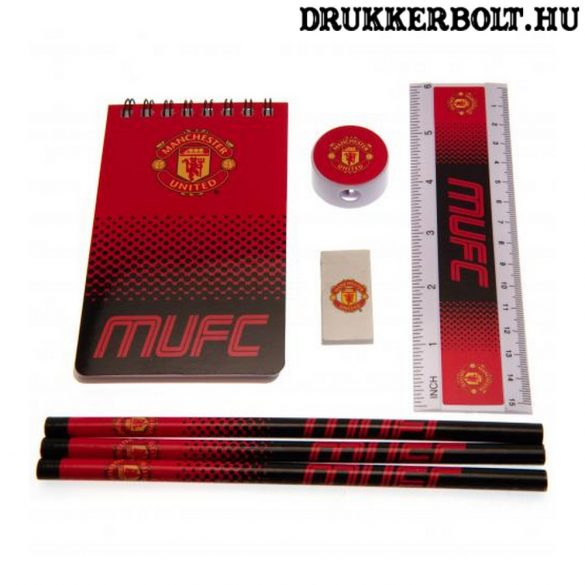 Manchester United 7 darabos iskola szett - eredeti, liszenszelt klubtermék!