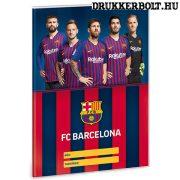 FC Barcelona füzetborító ( A/5 füzetre való Barca borító ) - hivatalos FCB termék