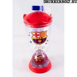 F.C. Barcelona pohár szívószállal  - hivatalos, eredeti termék