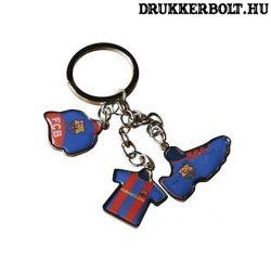 FC Barcelona tripla kulcstartó - hivatalos klubtermék