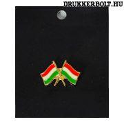 Magyarország kitűző - zászló alakú Magyarország jelvény