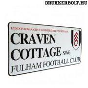 Fuham FC utcanévtábla - eredeti, hivatalos Fuham termék