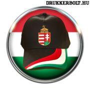 Hungary sapka (baseball) - fekete magyar baseballsapka (magyar válogatott)