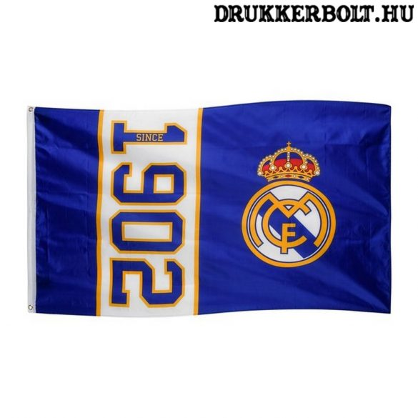 """Real Madrid CF zászló - Real Madrid """"1902"""" óriás zászló"""