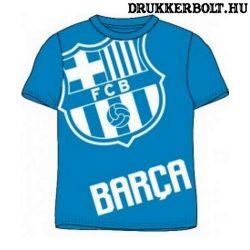 Fc Barcelona rövidujjú póló - Barca póló gyerek méretekben (kék)
