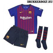 Nike FC Barcelona mez szett - gyerek Barca mez shorttal és sportszárral