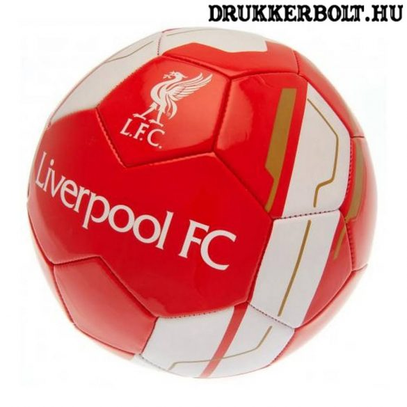 Liverpool FC labda - eredeti klubtermék (fehér focilabda)